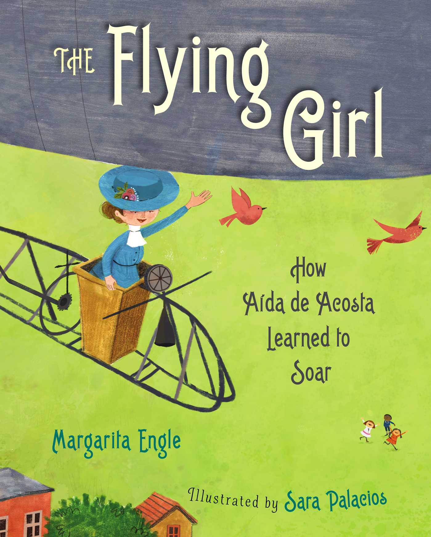 The flying girl 9781481445023 hr