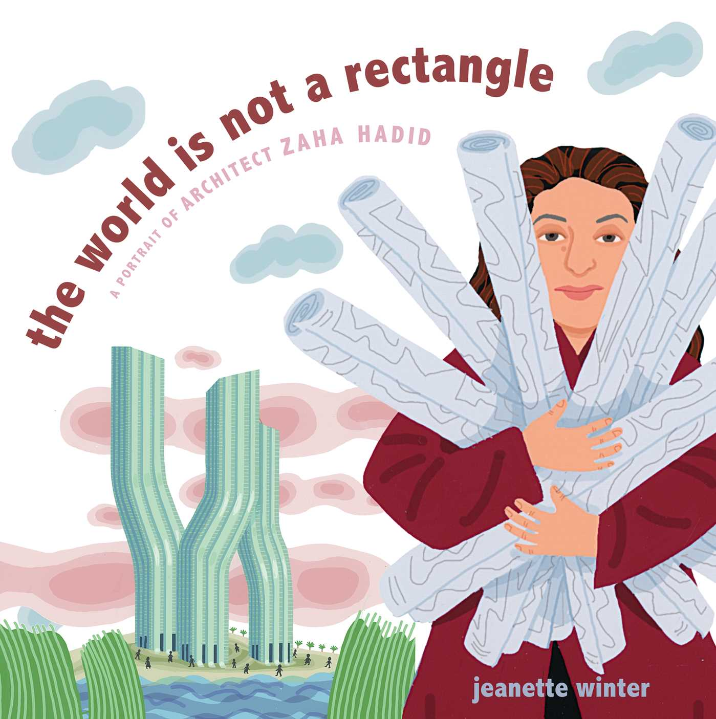THe world is not a rectangle - book cover