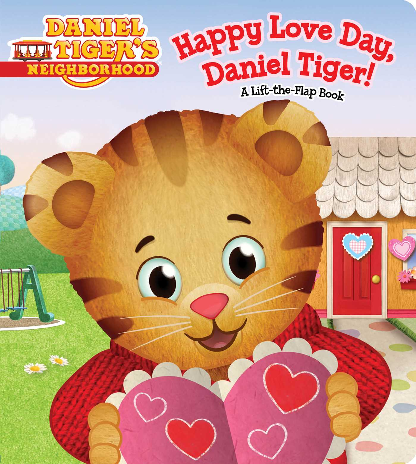 happy love day daniel tiger book by becky friedman. Black Bedroom Furniture Sets. Home Design Ideas