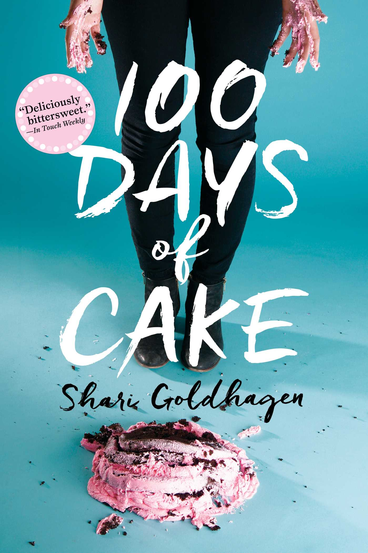 100 days of cake 9781481448574 hr