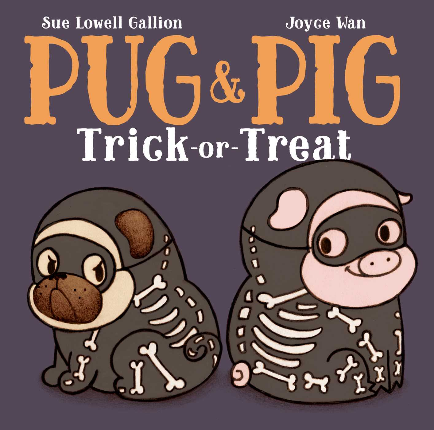 Pug pig trick or treat 9781481449779 hr