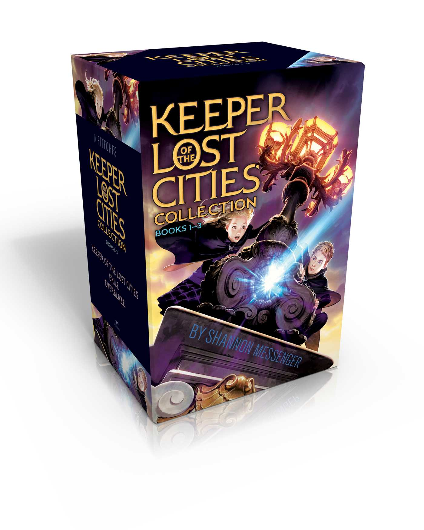 Keeper of the lost cities collection books 1 3 book by shannon