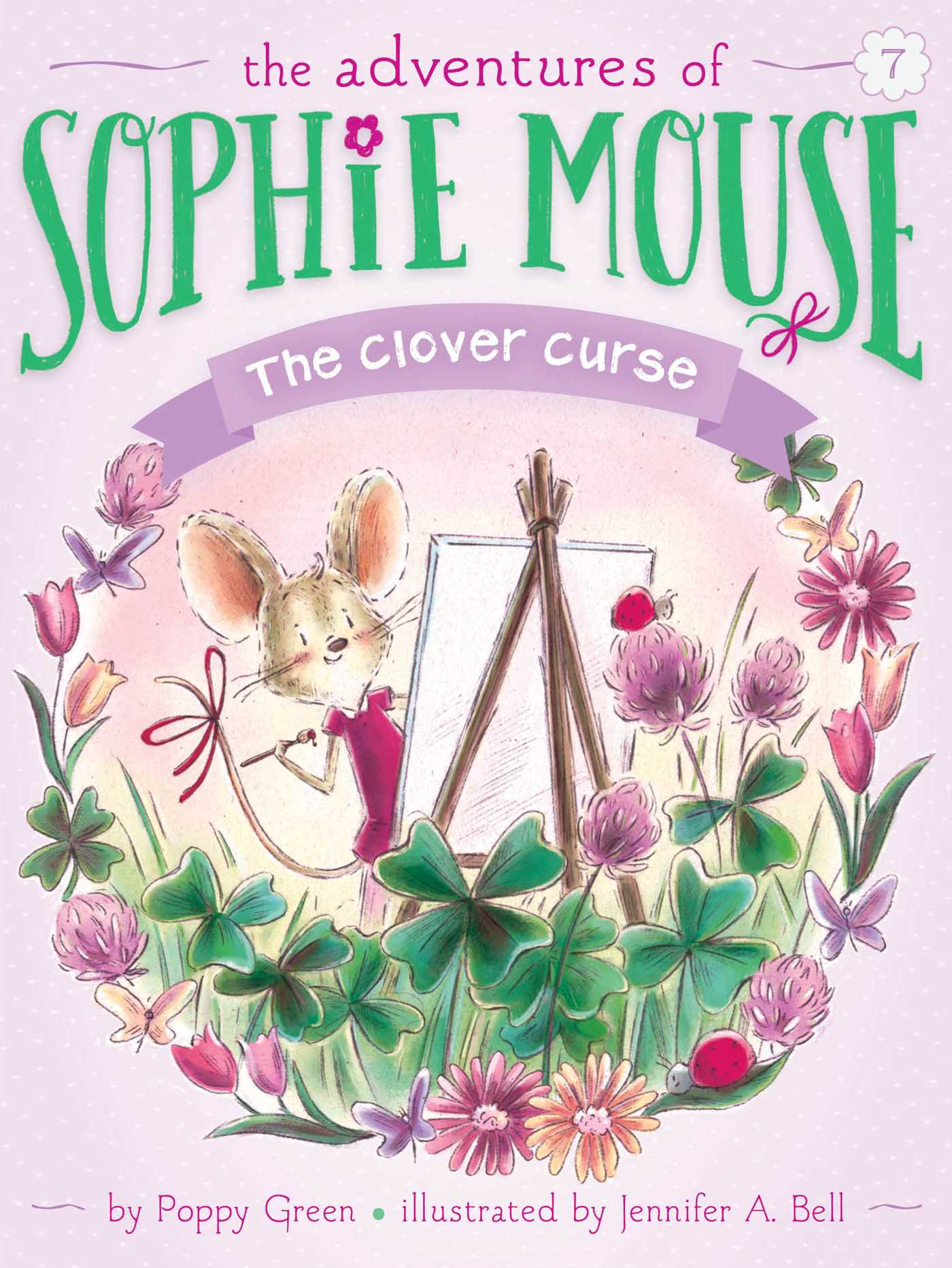 The clover curse 9781481451833 hr