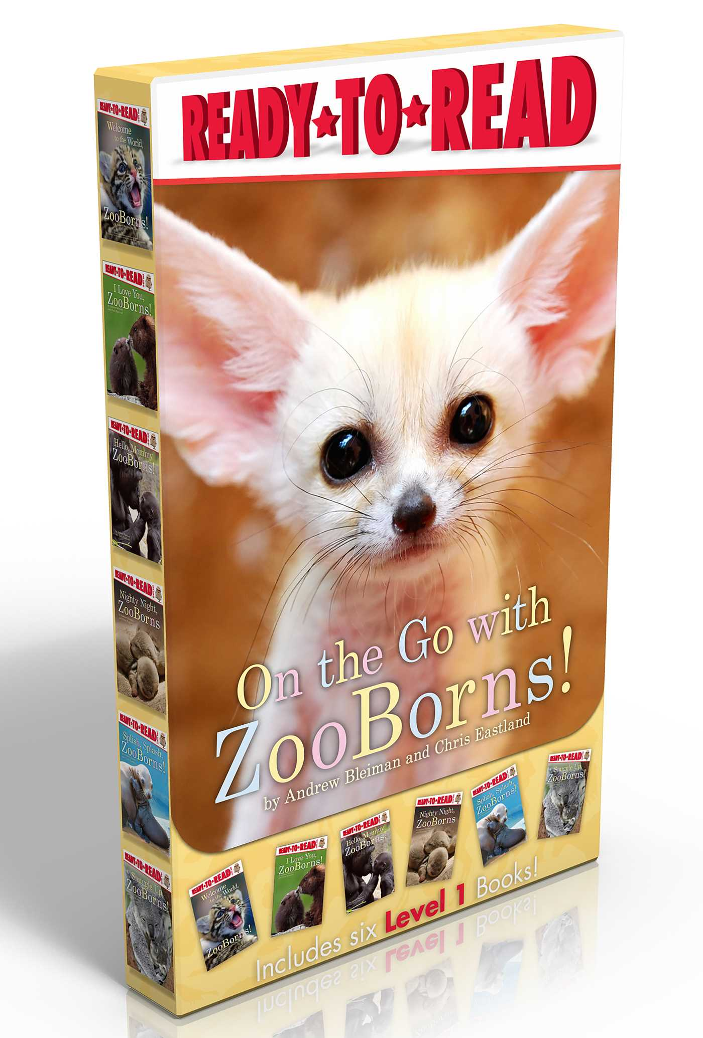 On the go with zooborns 9781481452205 hr