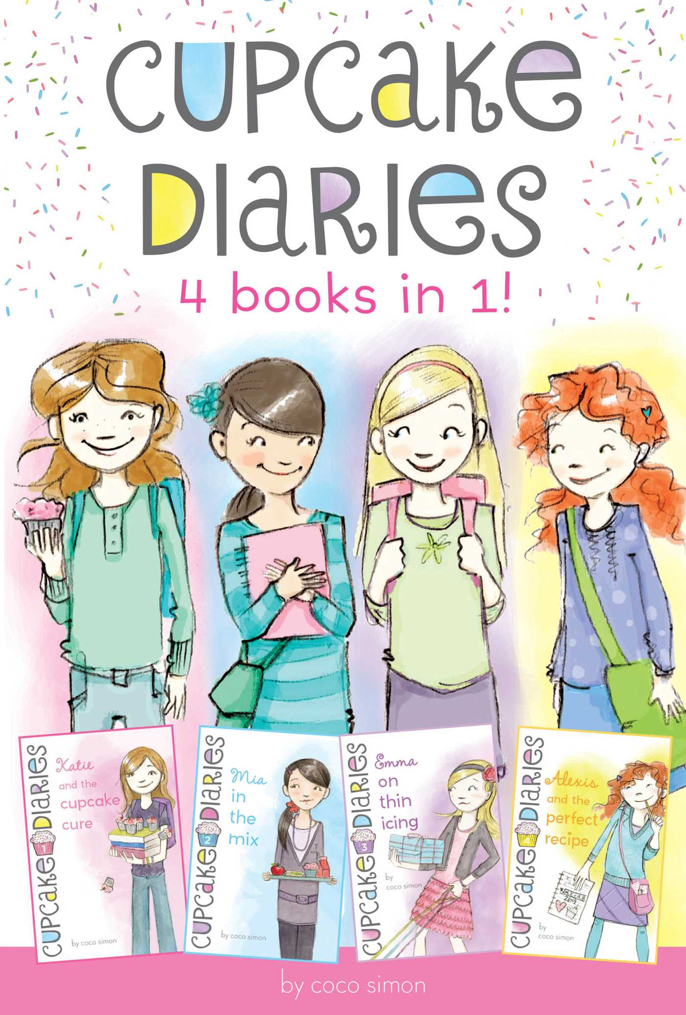 Cupcake diaries 4 in 1 9781481452359 hr