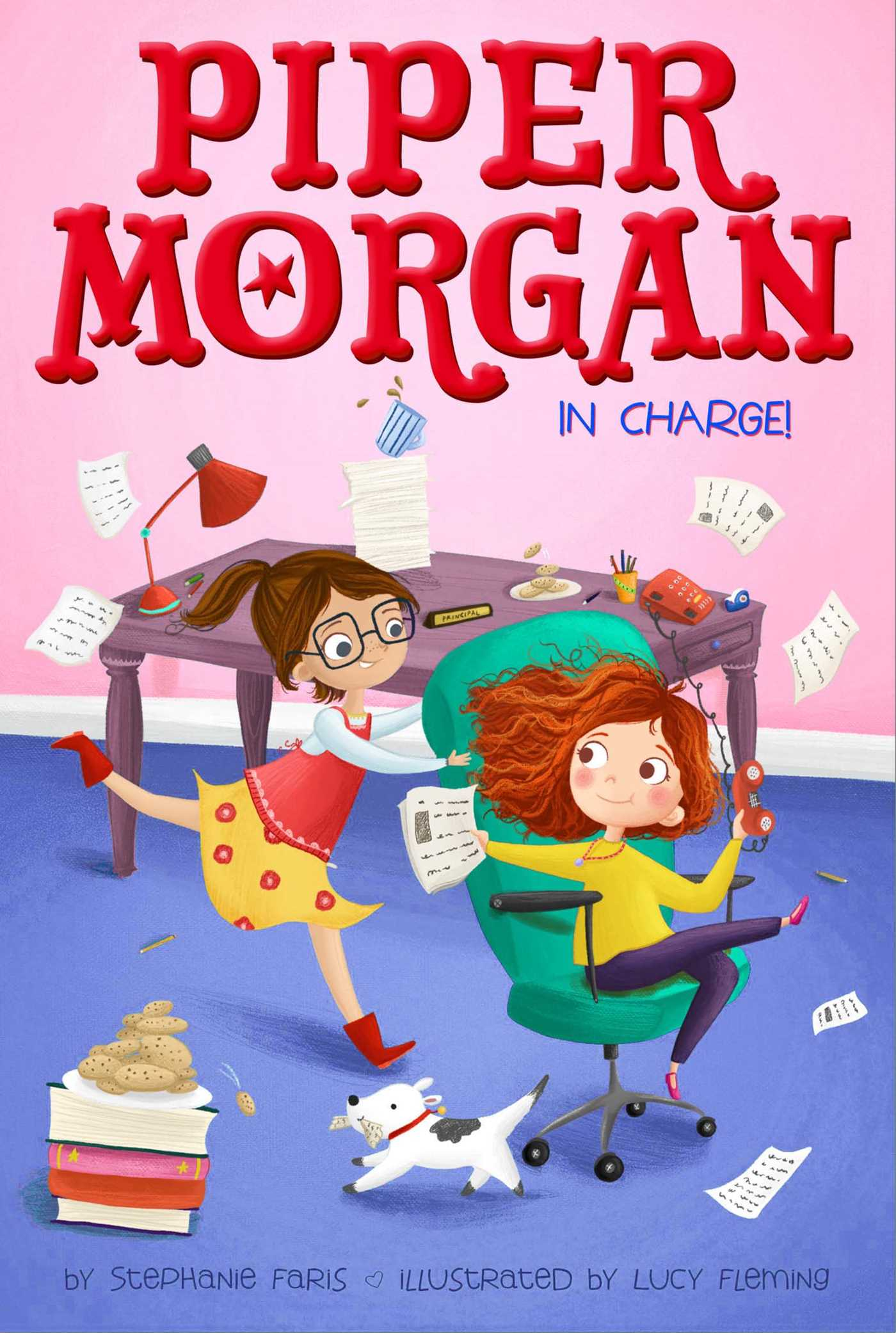 Piper morgan in charge 9781481457118 hr