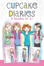 Cupcake Diaries 3 Books in 1!