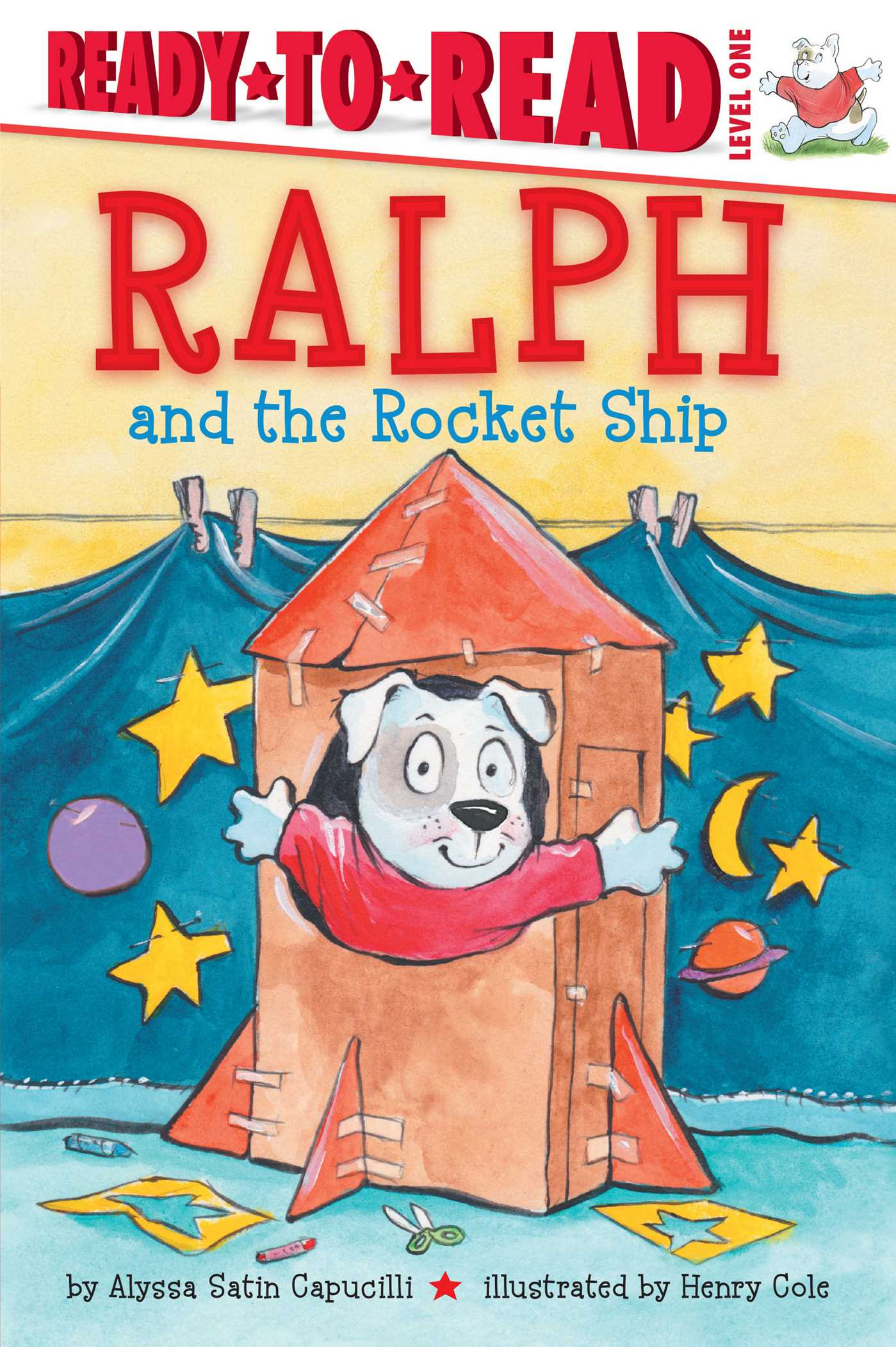 Ralph and the rocket ship 9781481458665 hr