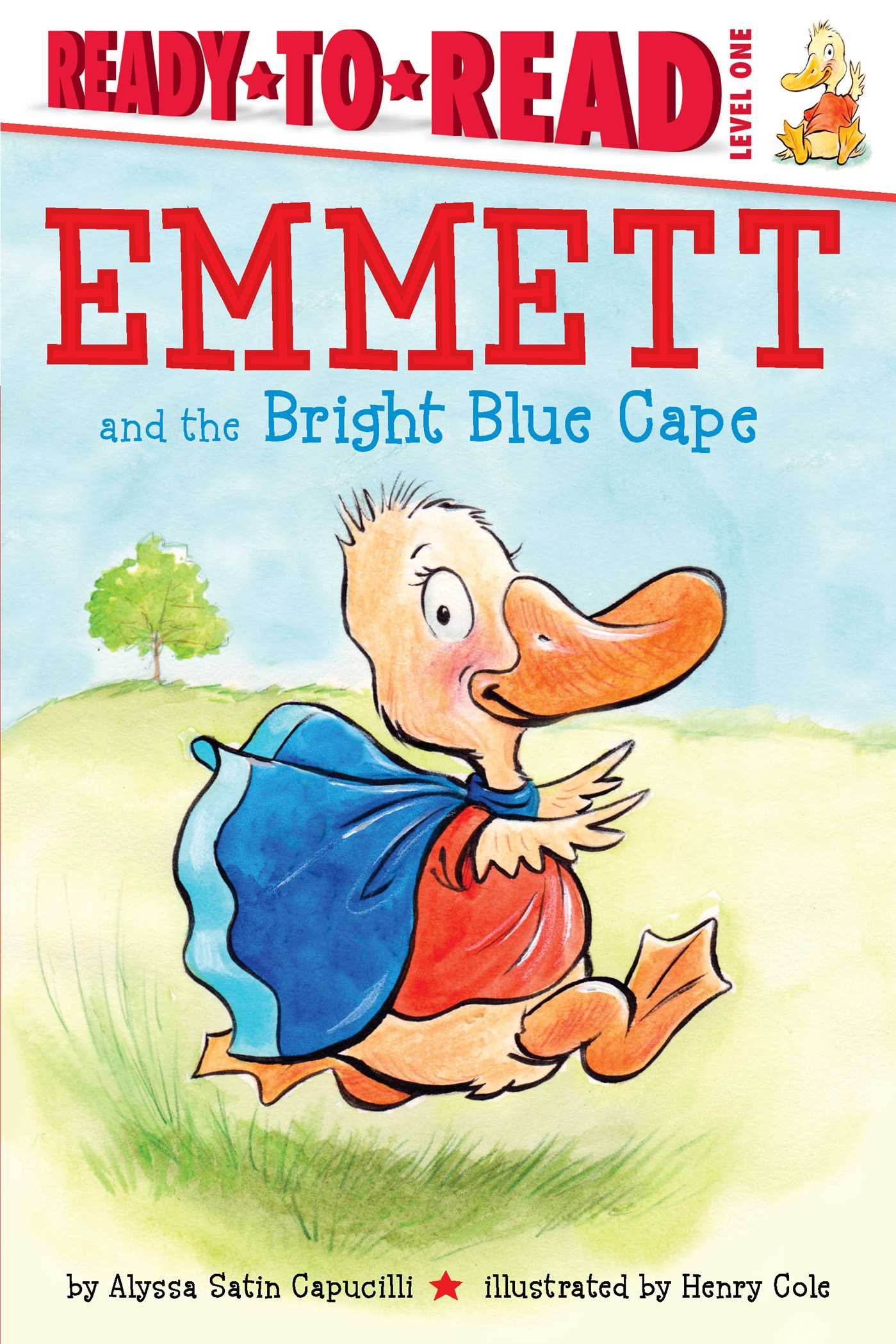 Emmett and the bright blue cape 9781481458696 hr
