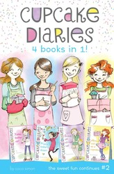 Cupcake Diaries 4 Books in 1! #2