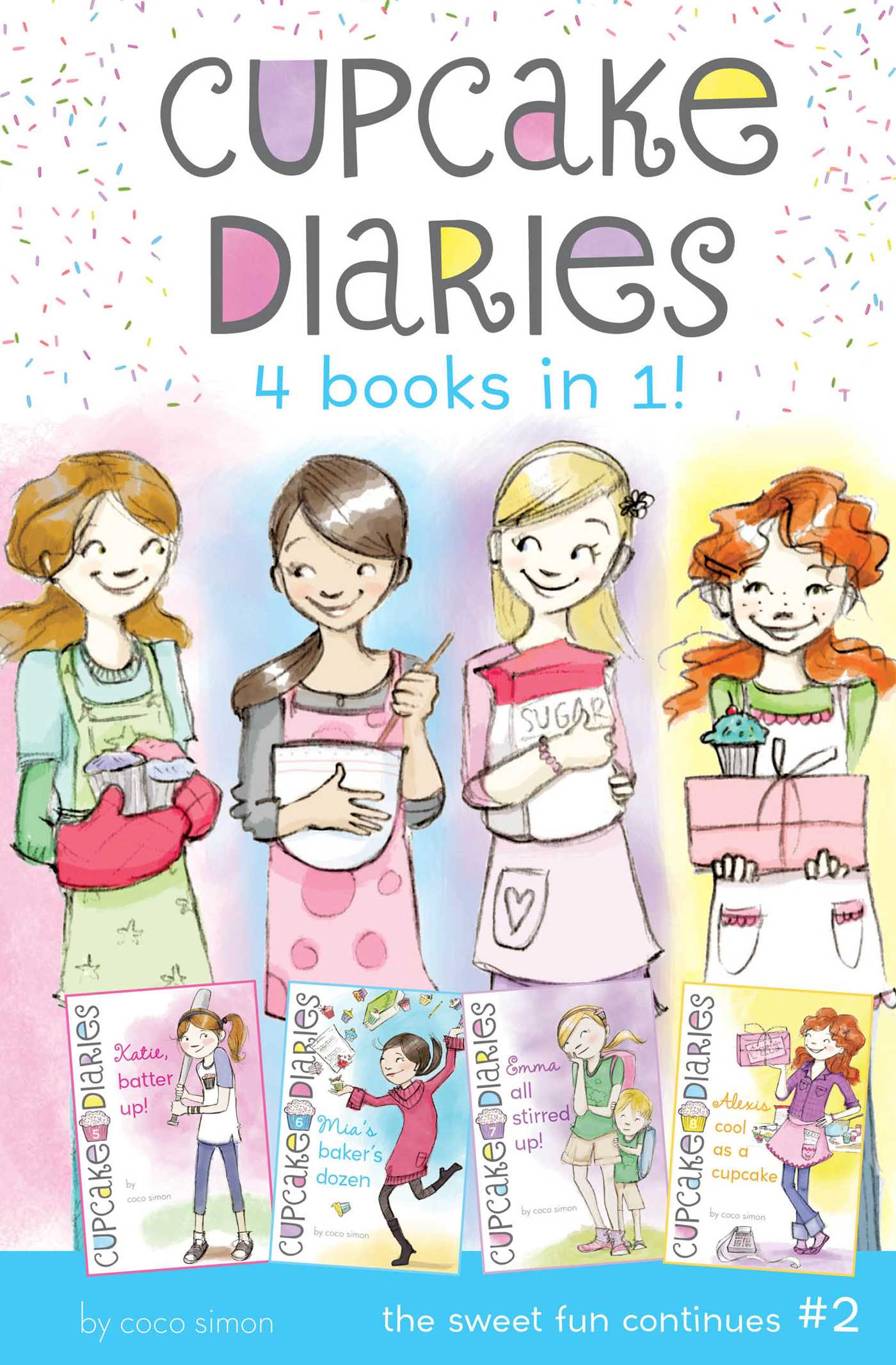 Cupcake diaries 4 books in 1 2 9781481460200 hr