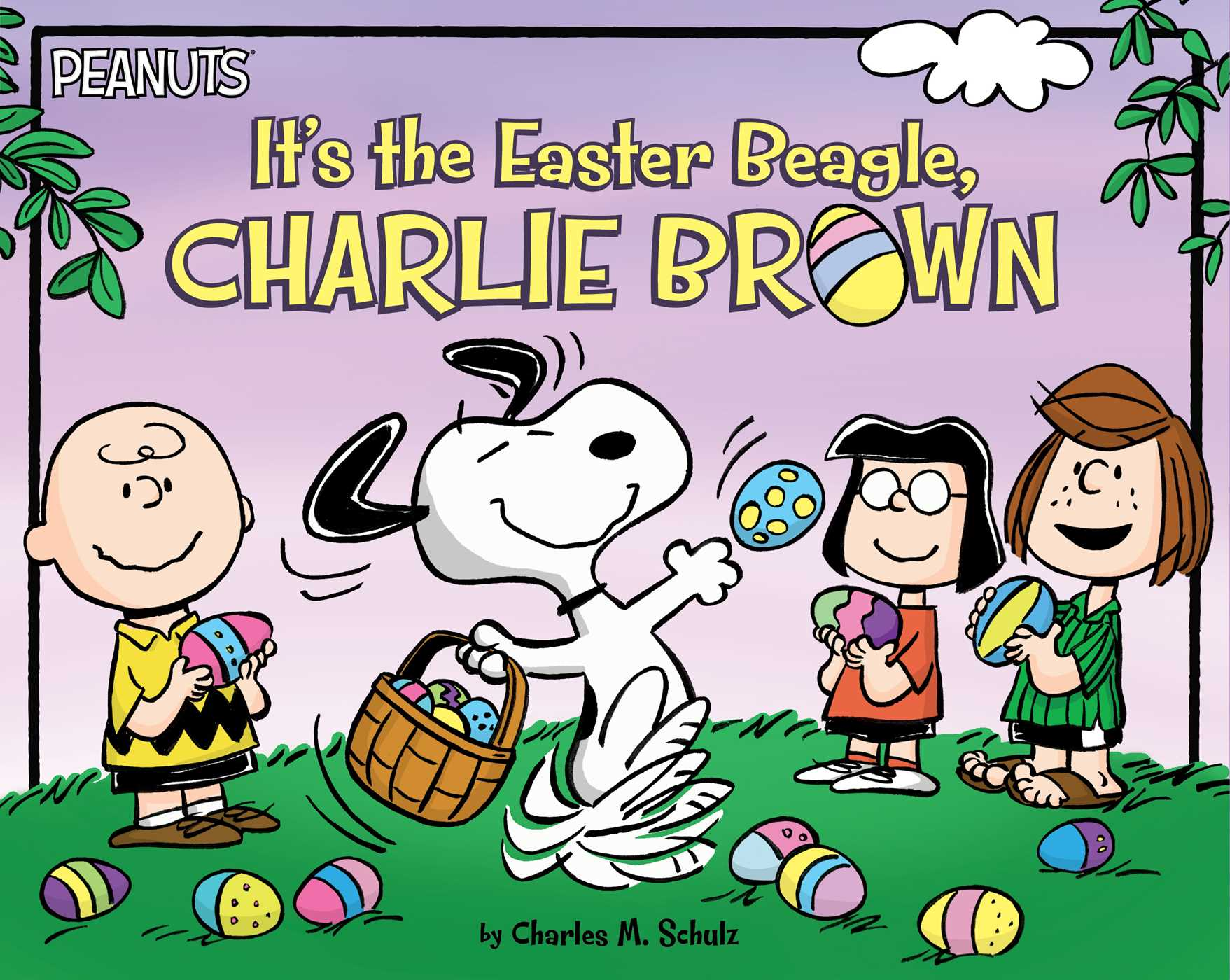it u0027s the easter beagle charlie brown book by charles m schulz