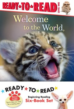 ZooBorns Ready-to-Read Value Pack