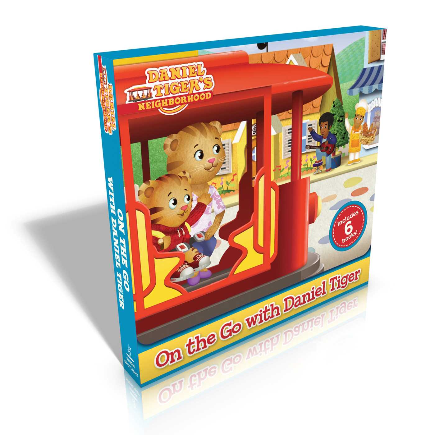 on the go with daniel tiger book by various official