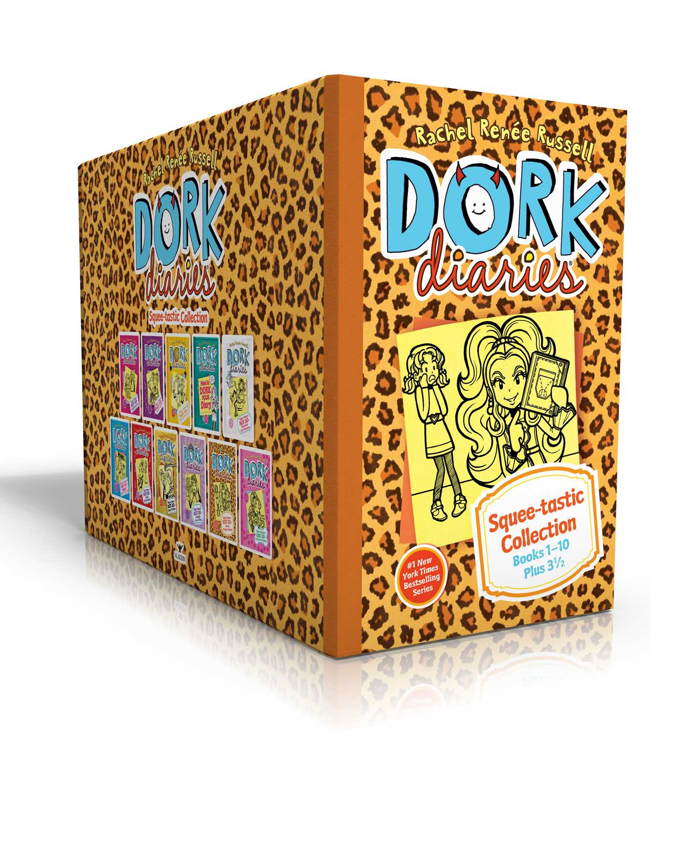 Dork diaries squee tastic collection books 1 10 plus 3 1 2 9781481468879 hr