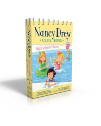 Nancy Drew Clue Book Mystery Mayhem Collection Books 1-4