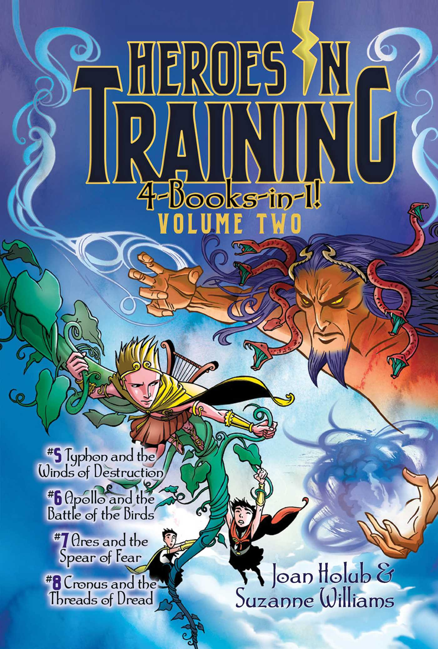 Heroes in training 4 books in 1 volume two 9781481475952 hr
