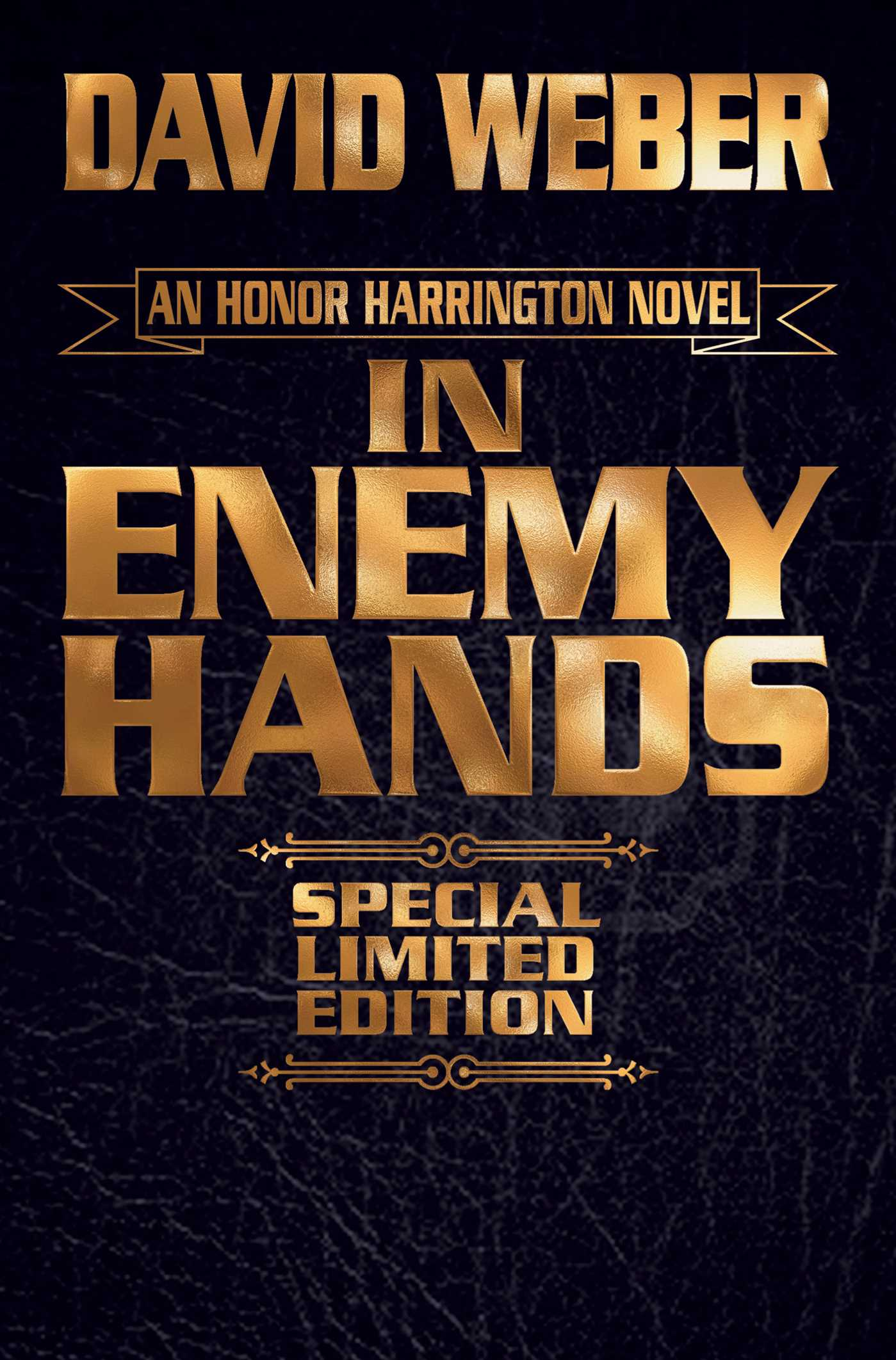 In enemy hands limited leatherbound edition 9781481482998 hr