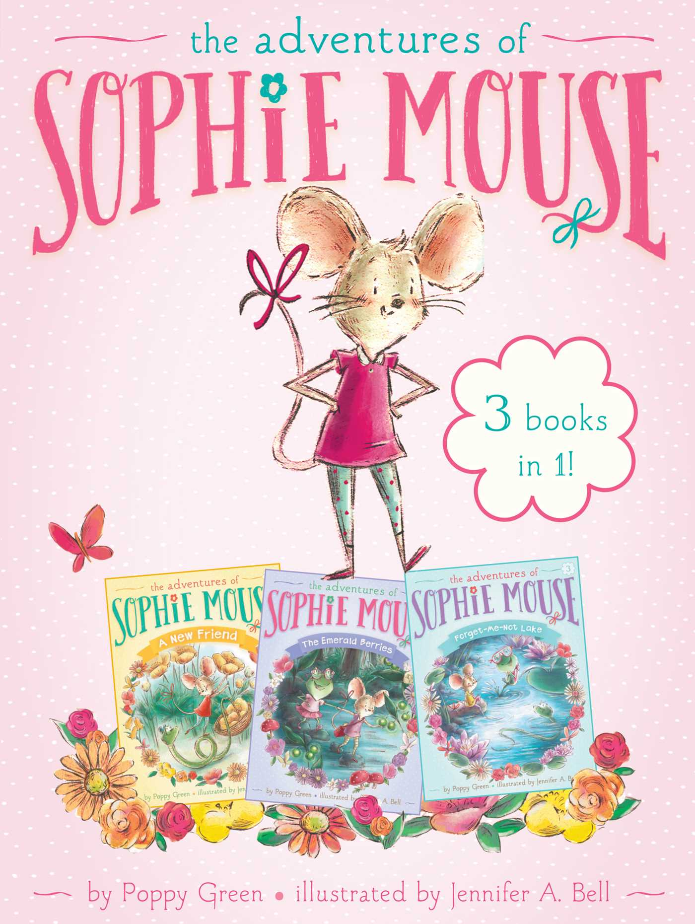 The adventures of sophie mouse 3 books in 1 9781481485241 hr