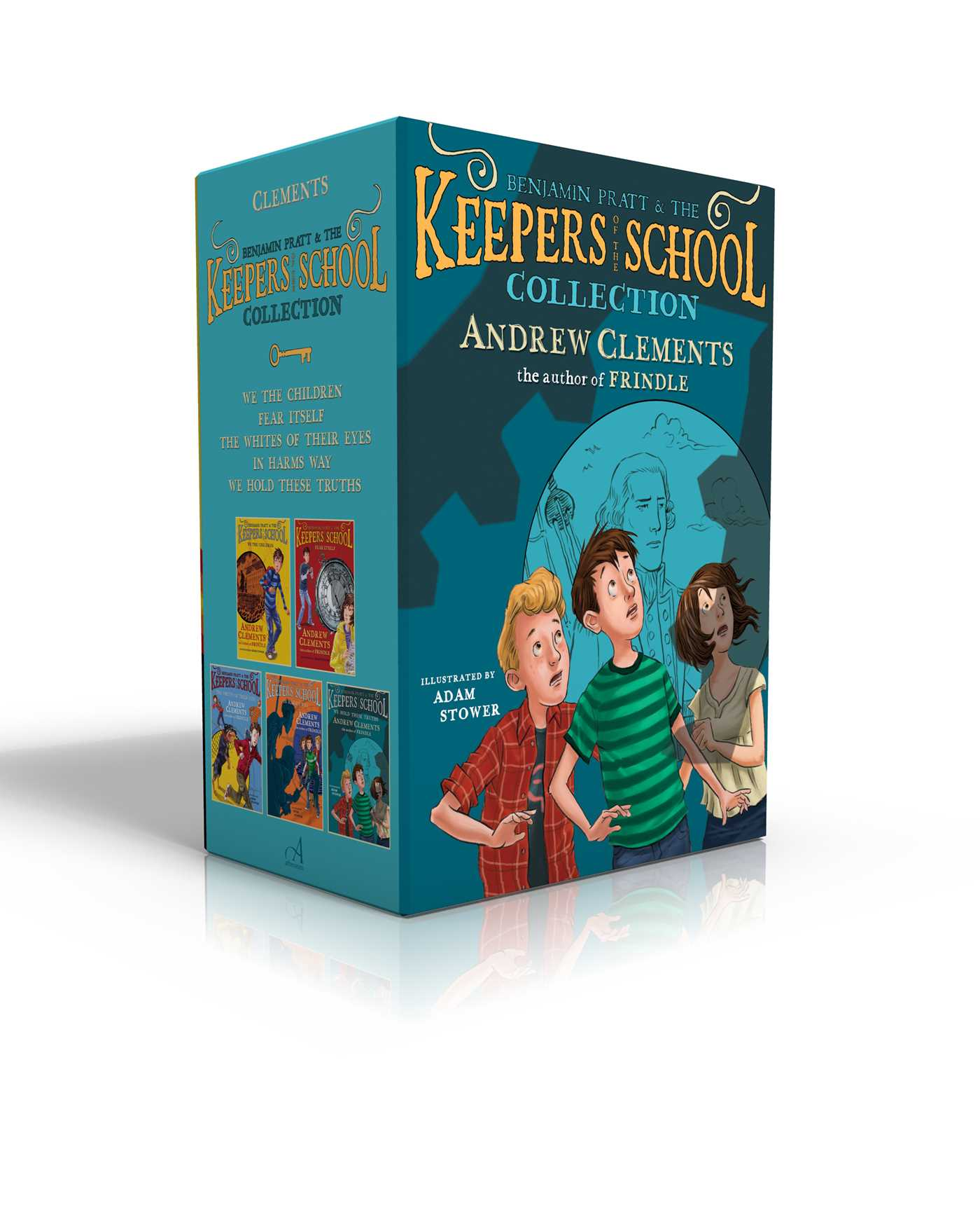 Keepers of the school boxed set 9781481487061 hr