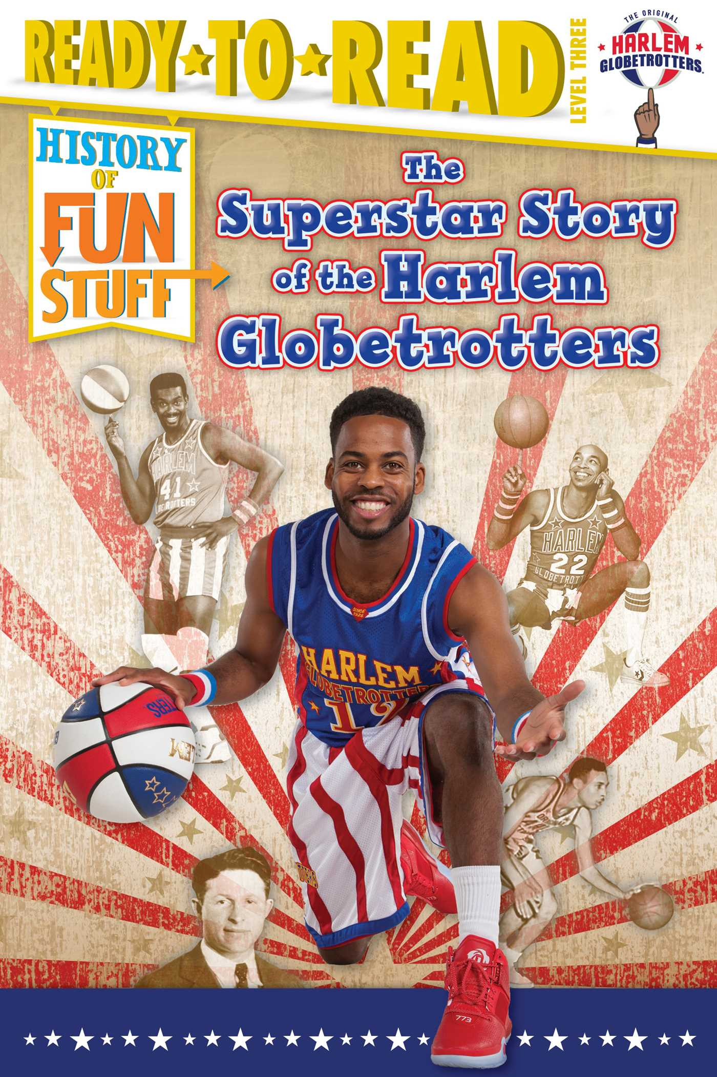 The superstar story of the harlem globetrotters 9781481487481 hr