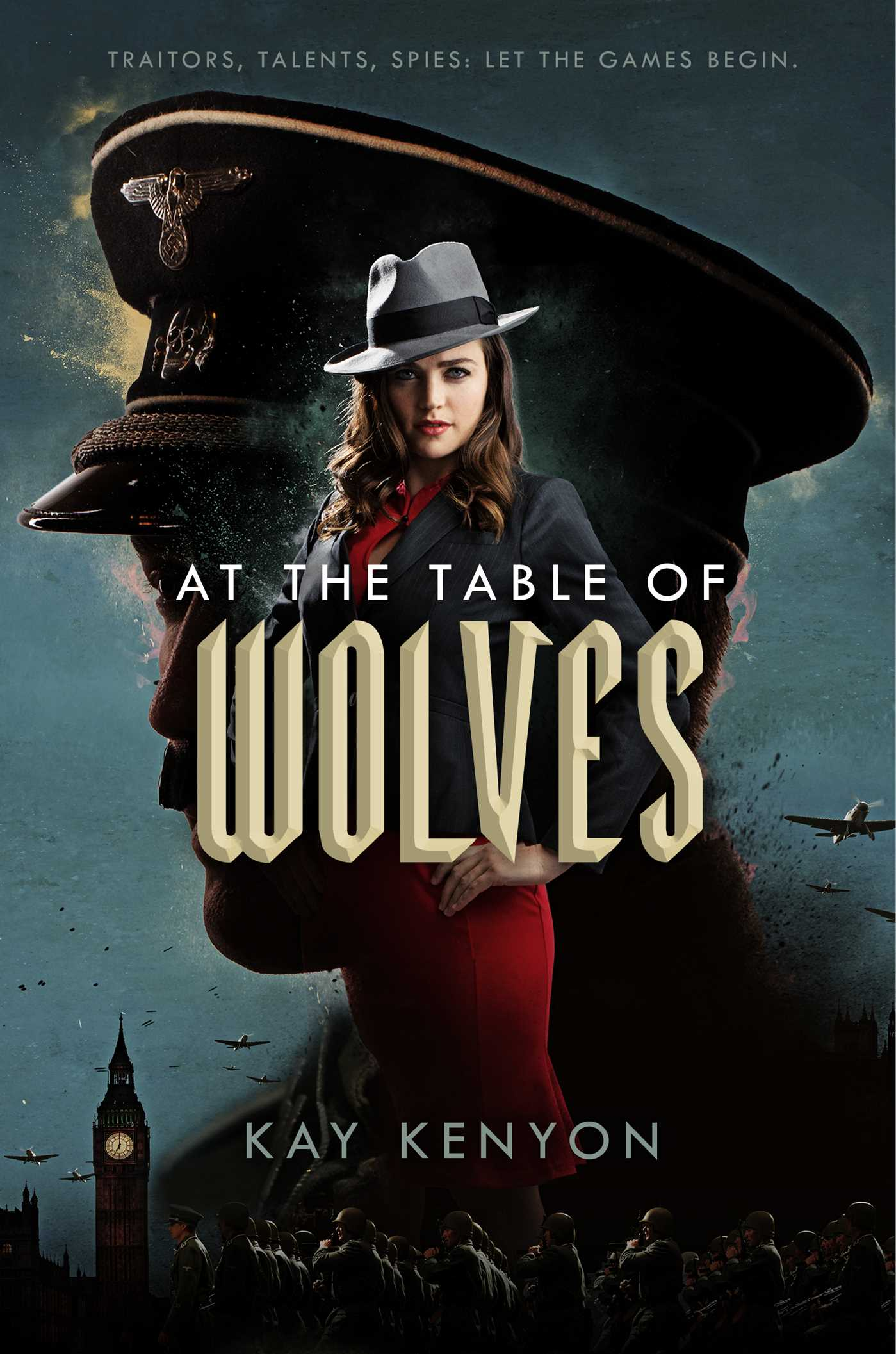 At the table of wolves 9781481487801 hr
