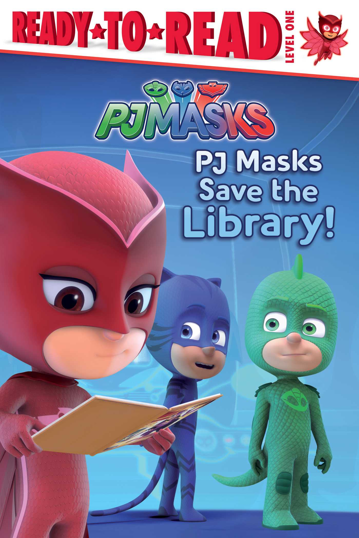 Pj masks save the library 9781481488921 hr