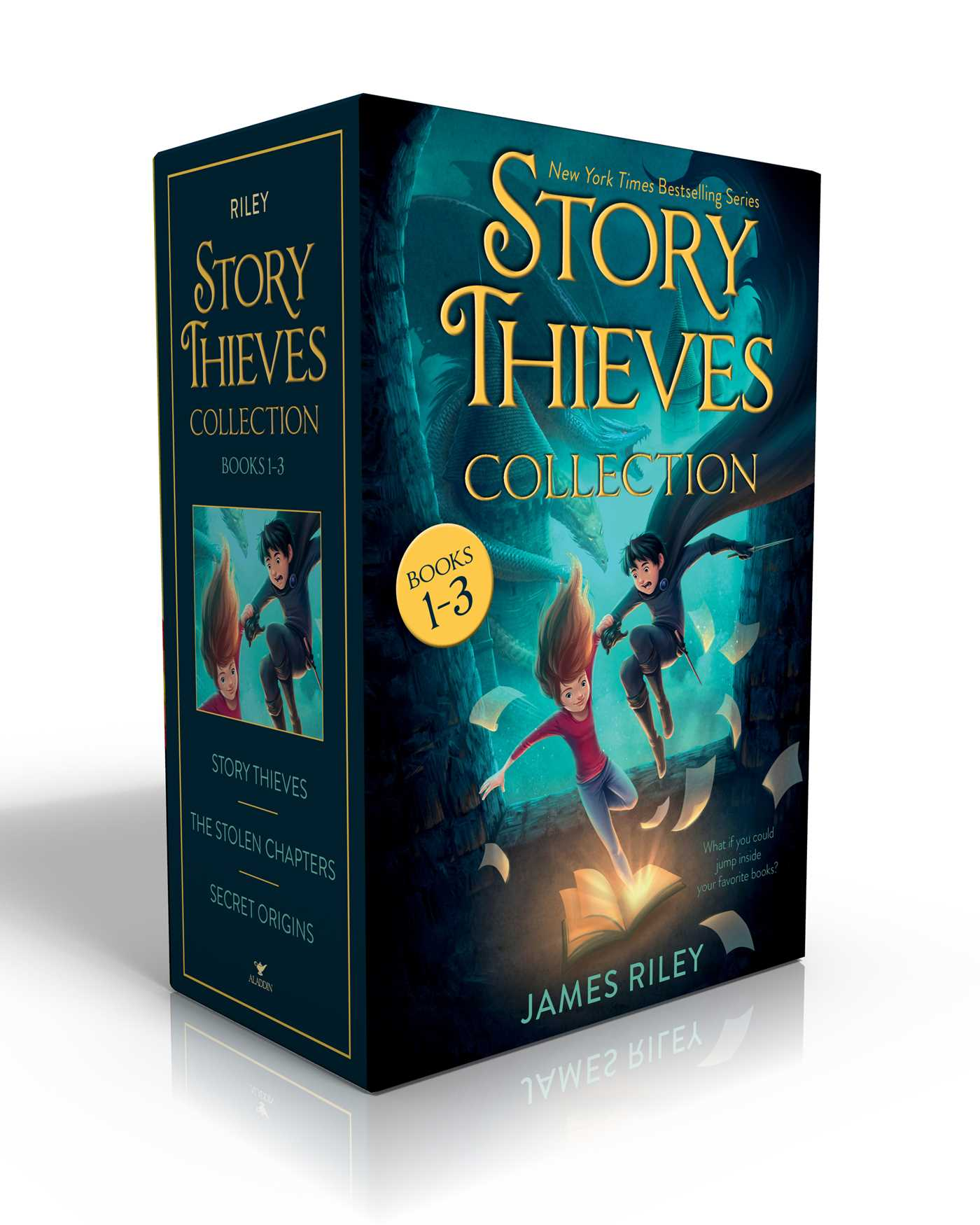 Story Thieves Collection Books 1 3 9781481489966 Hr