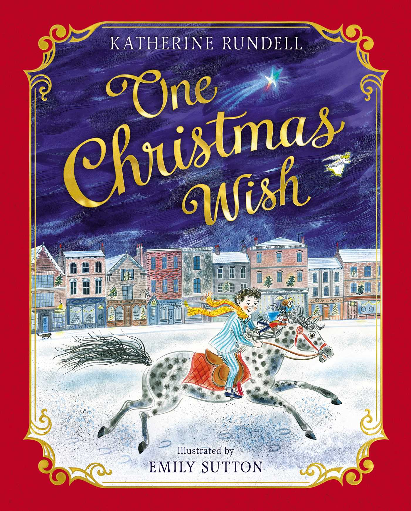 One Christmas Wish Book By Katherine Rundell Emily Sutton