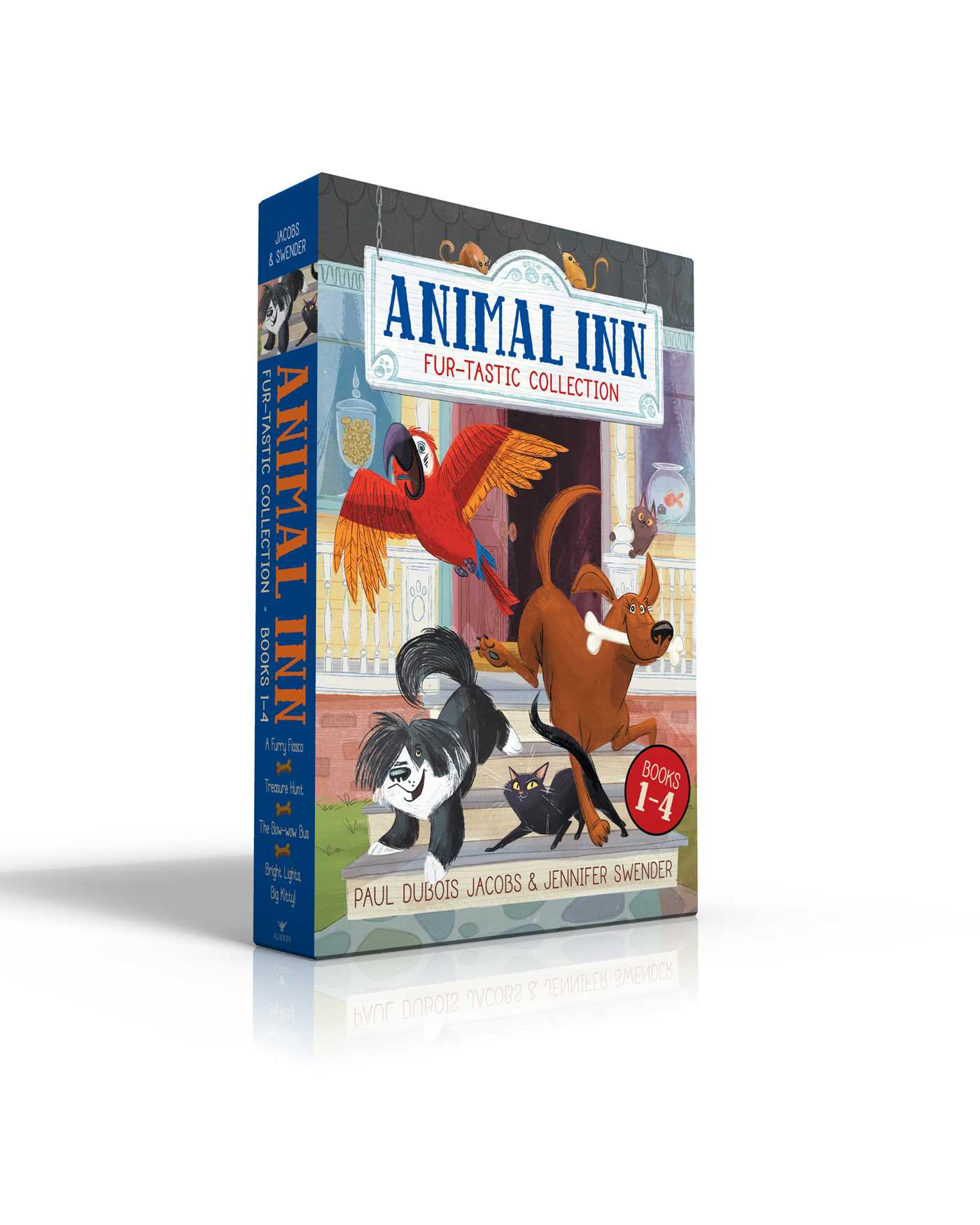 Animal inn fur tastic collection books 1 4 9781481496902 hr