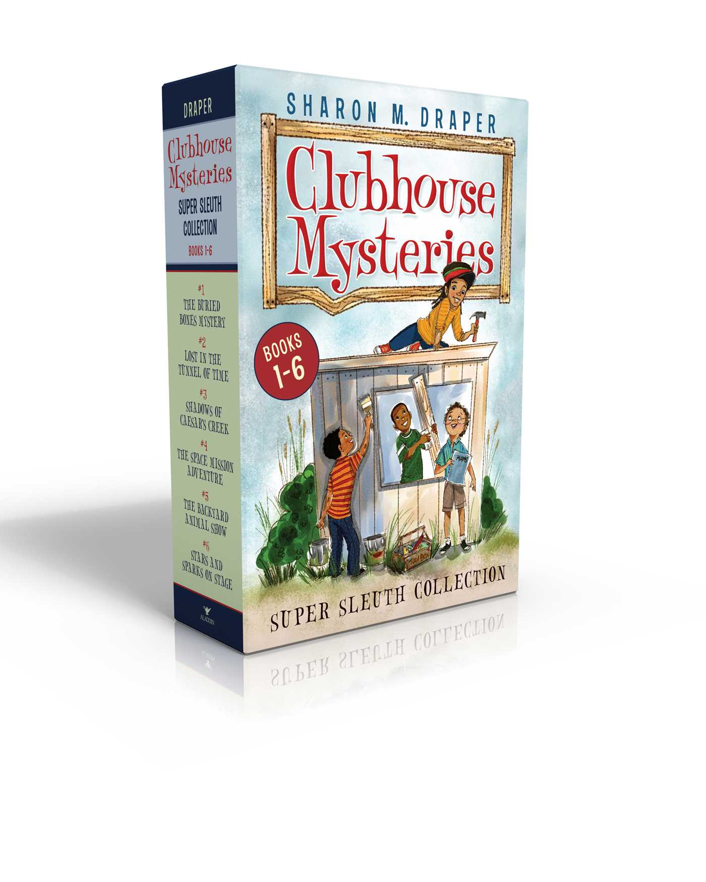 Clubhouse mysteries super sleuth collection 9781481496957 hr