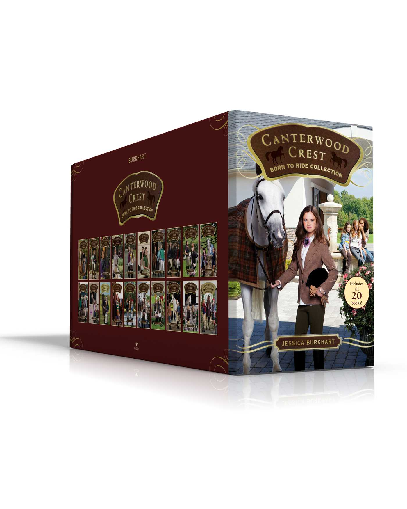 Canterwood crest born to ride collection 9781481496964 hr