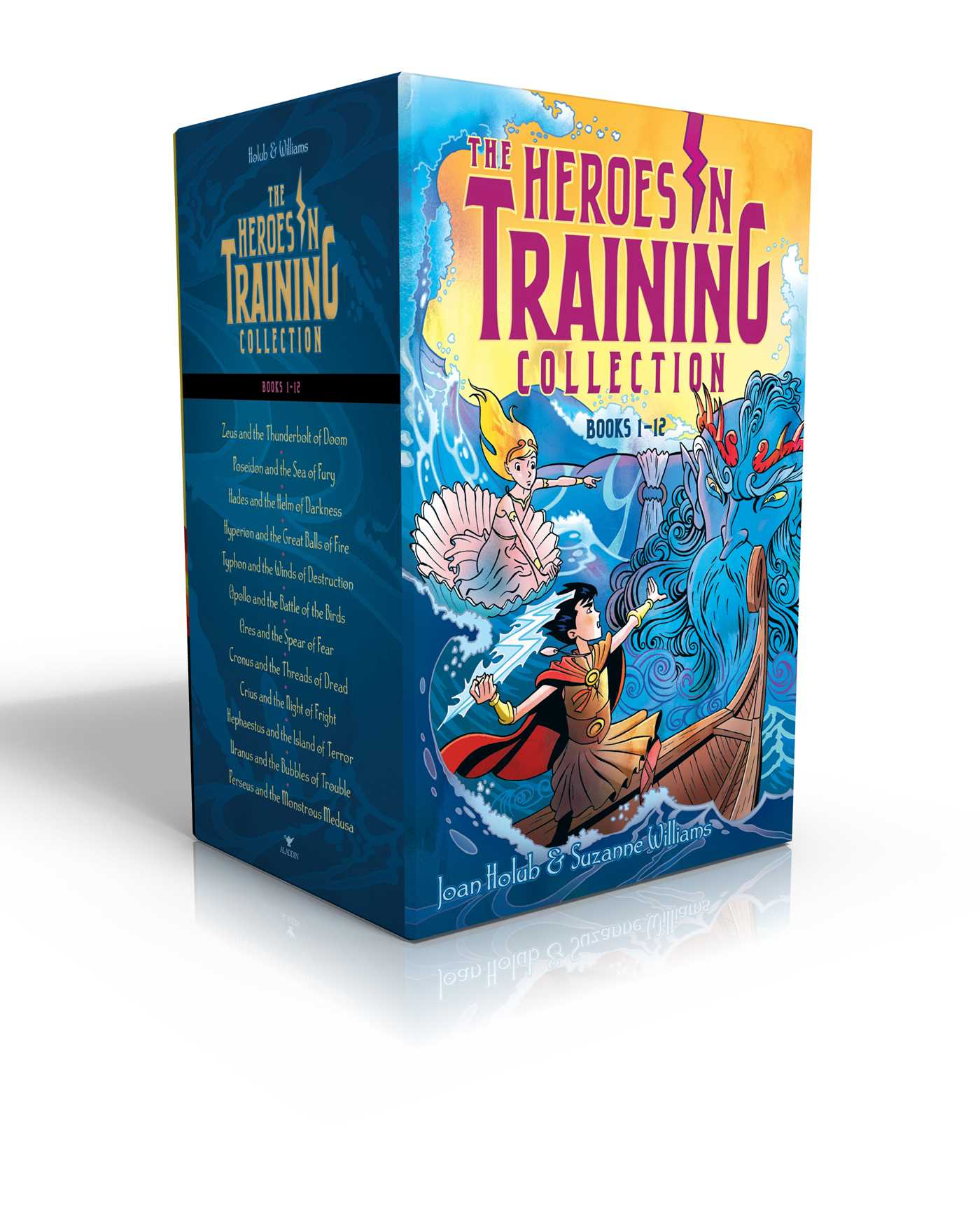 Heroes in training olympian collection books 1 12 9781481496988 hr