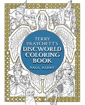 Terry Pratchett's Discworld Coloring Book