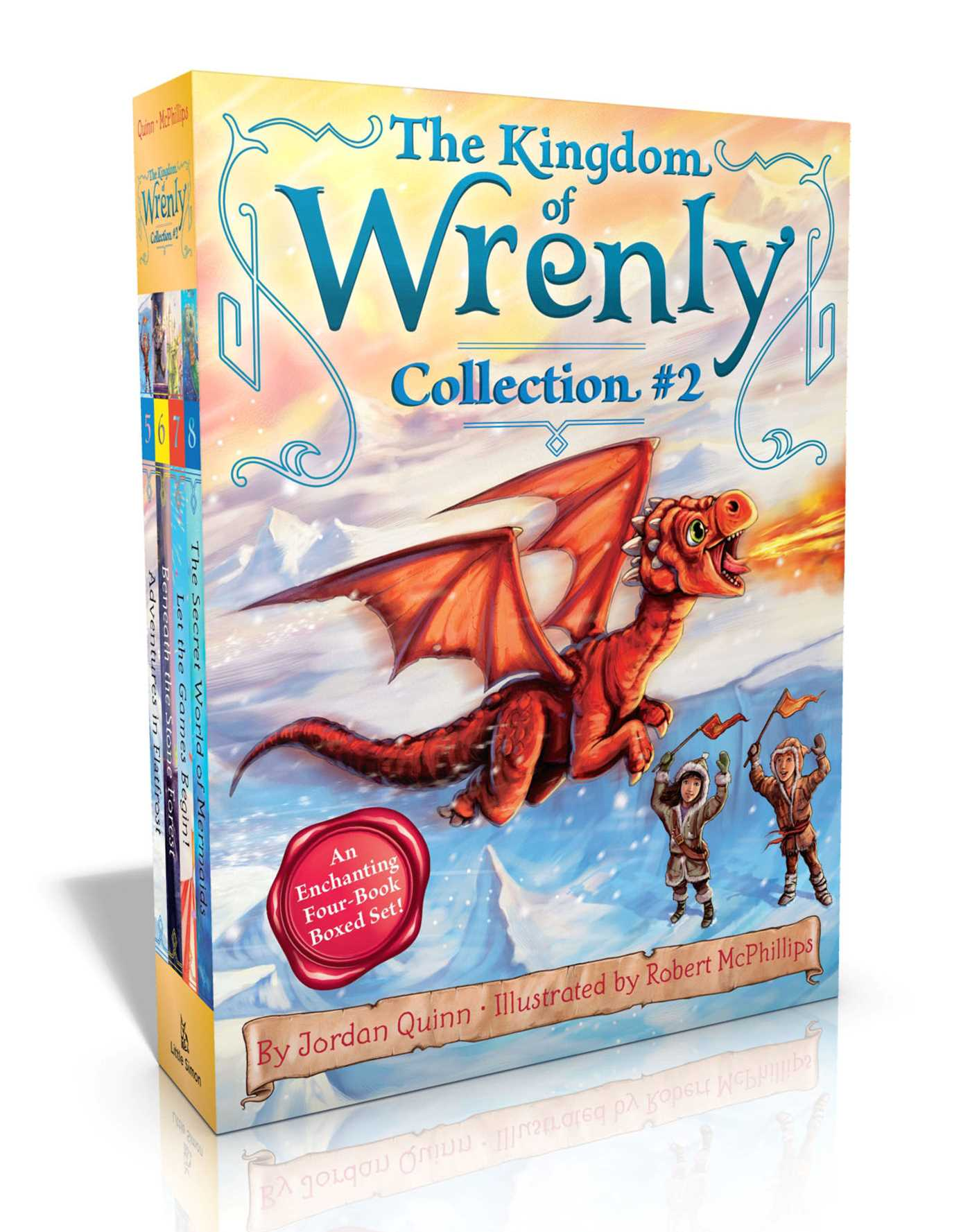 The kingdom of wrenly collection 2 9781481499613 hr