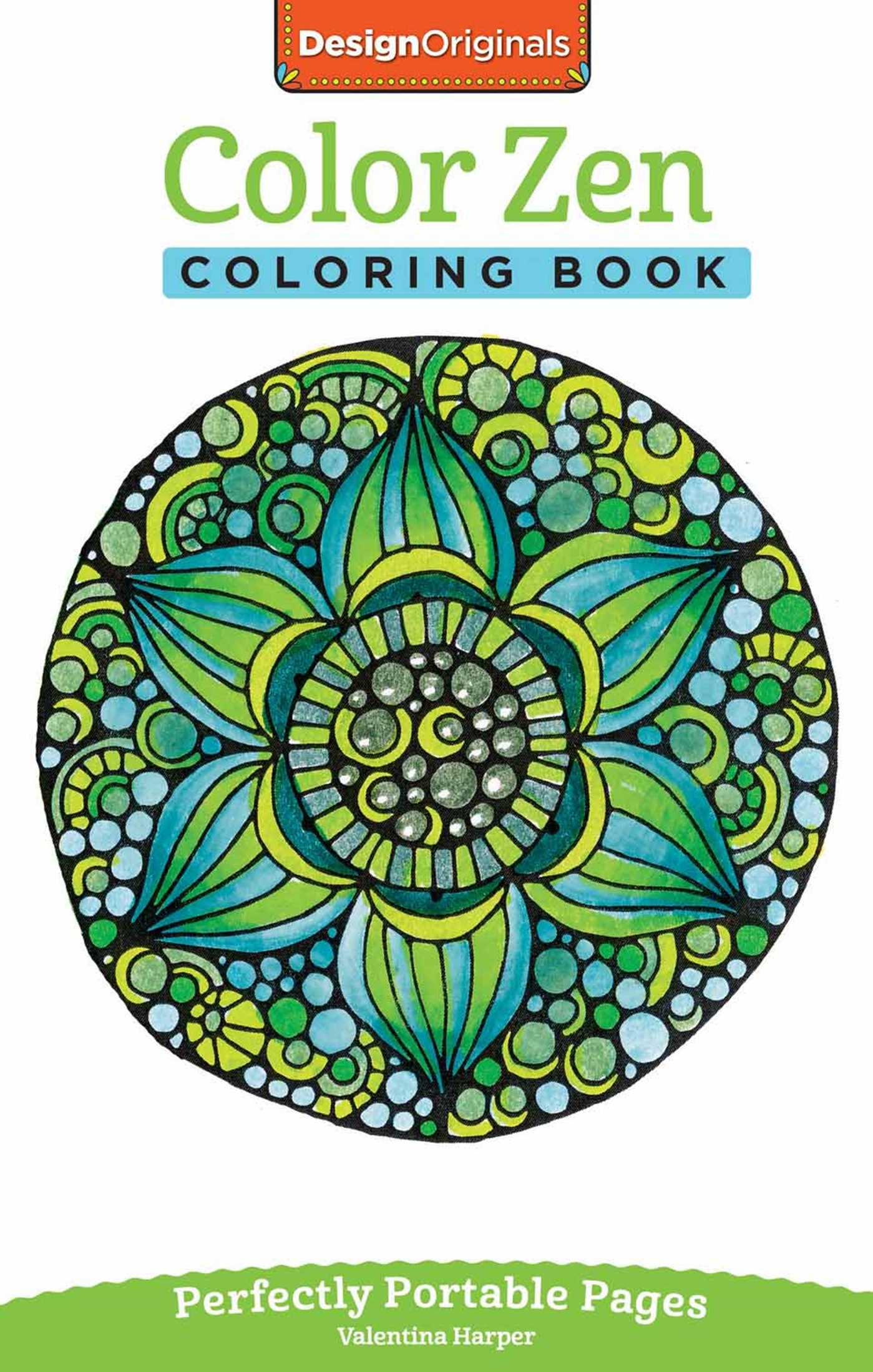 Color Zen Coloring Book | Book by Valentina Harper | Official ...
