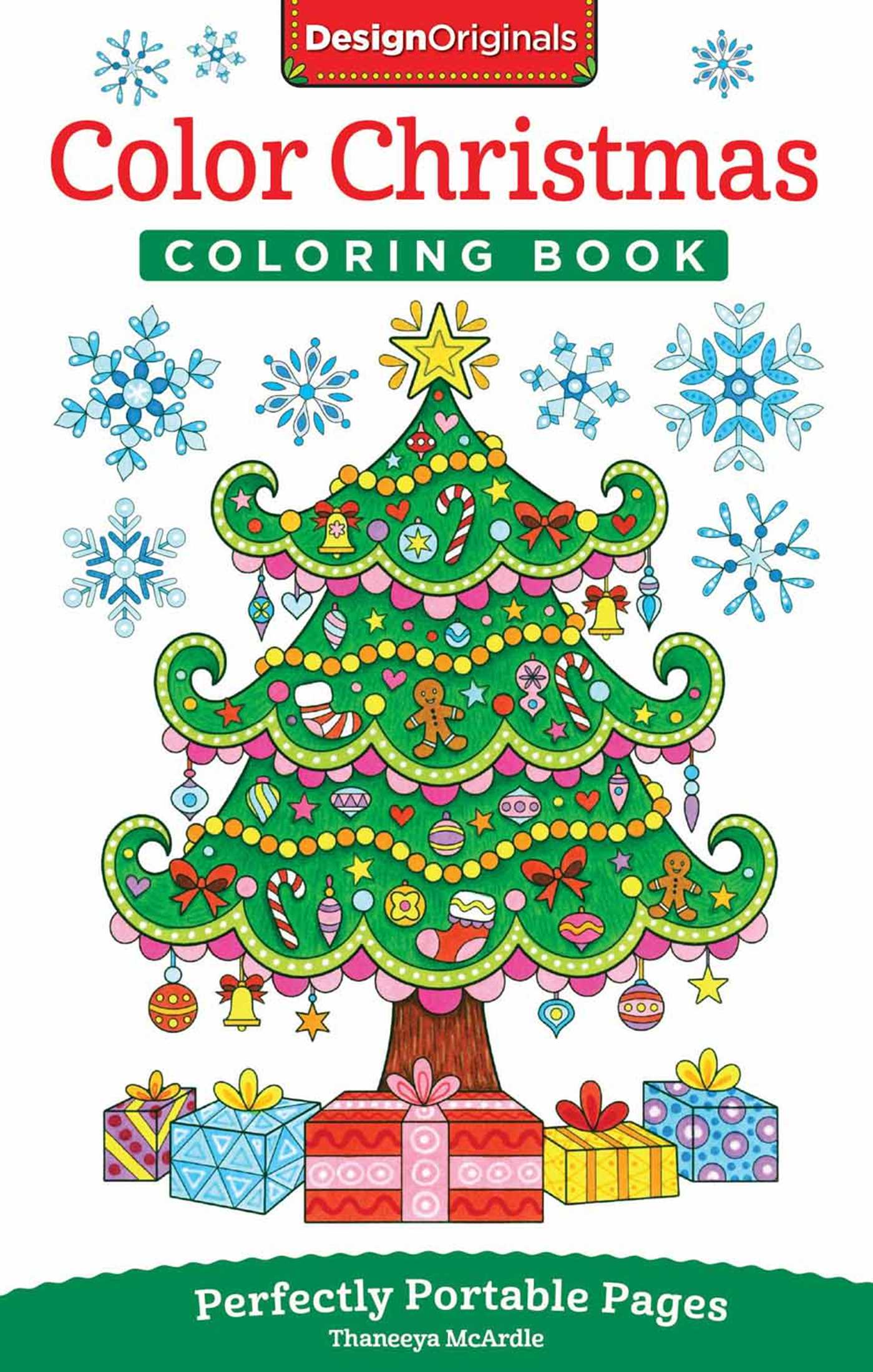 Color Christmas Coloring Book | Book by Thaneeya McArdle | Official ...