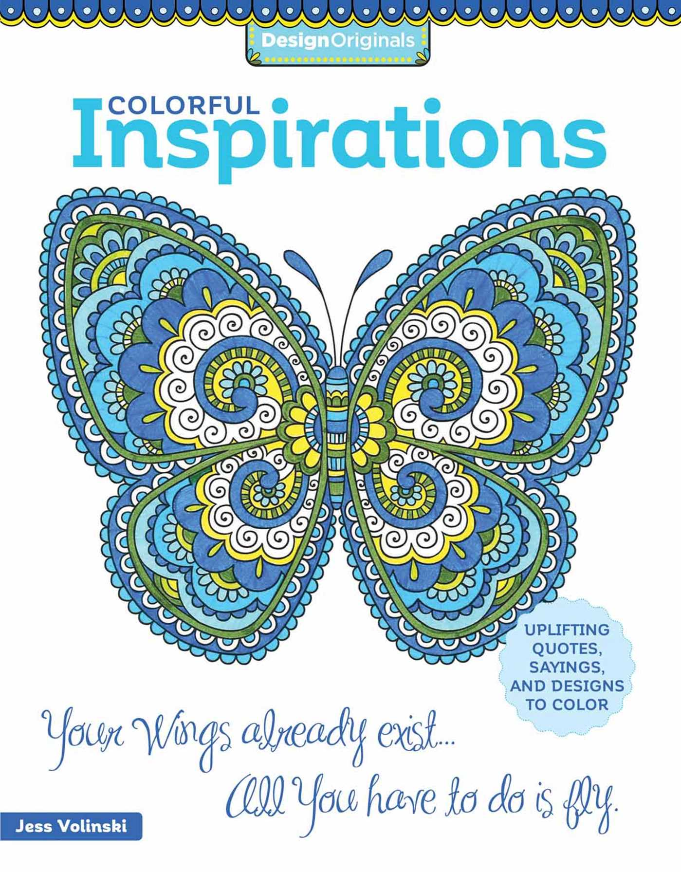 colorful inspirations coloring book book by jess volinski