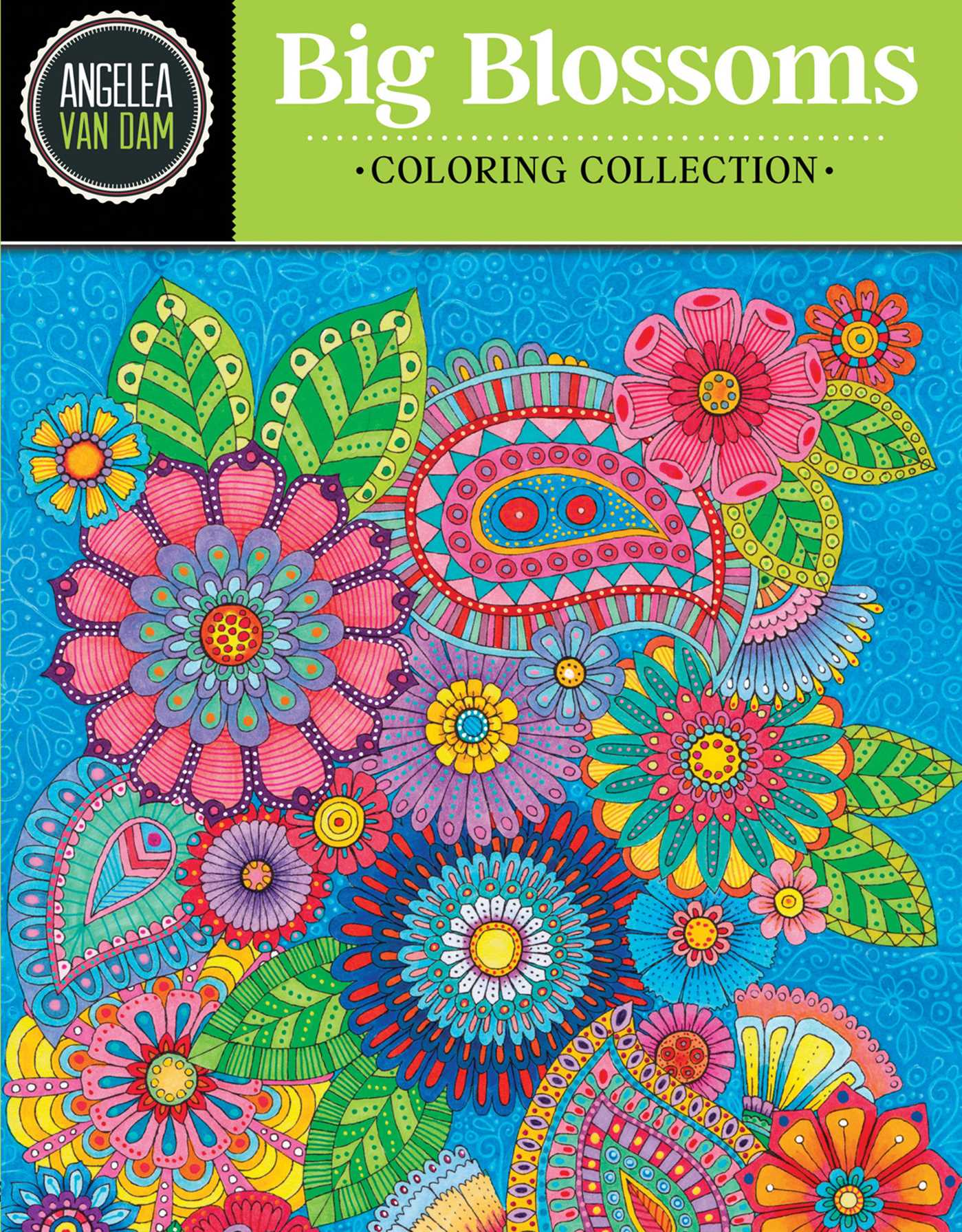 Book Cover Image Jpg Hello Angel Big Blossoms Coloring Collection