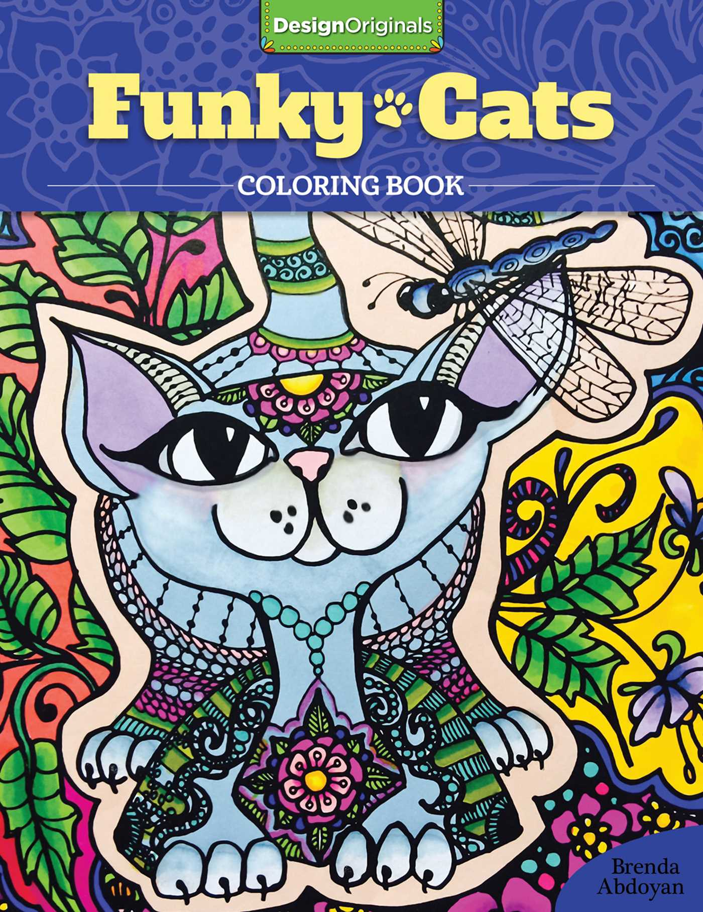 Book Cover Image Jpg Funky Cats Coloring