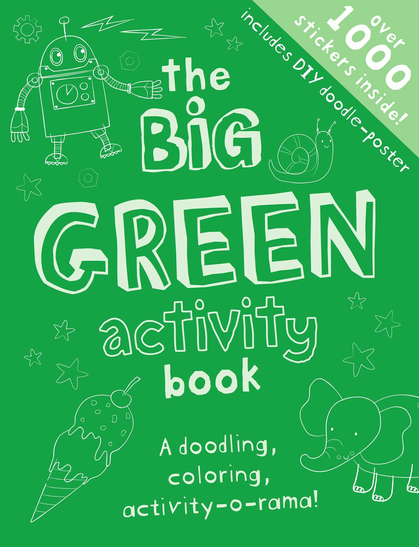 the big green activity book 9781499801590 hr - Books About The Color Green