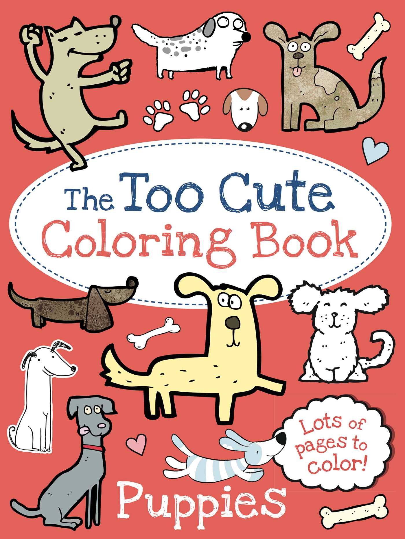 Book Cover Image Jpg The Too Cute Coloring Puppies