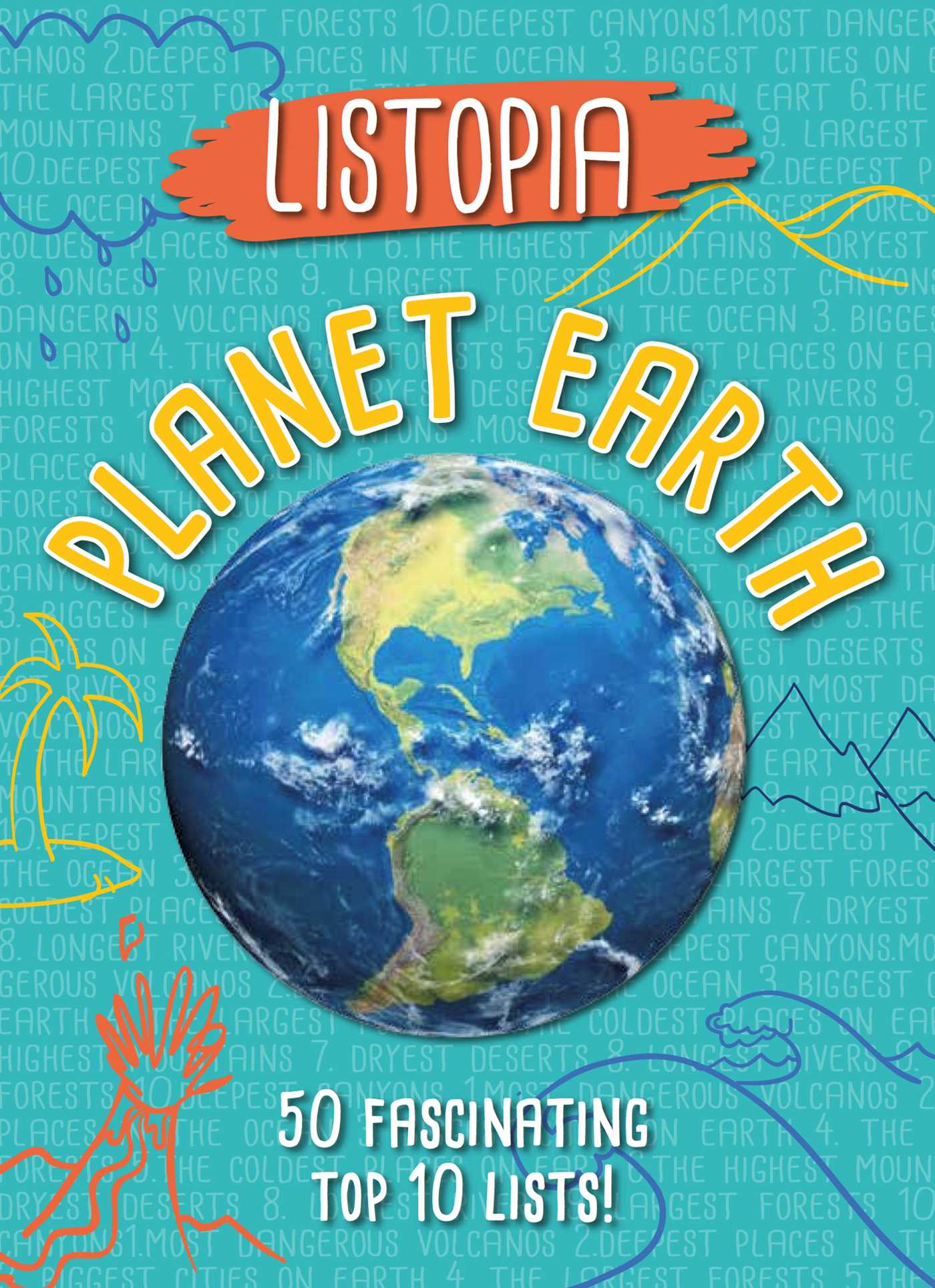 Listopia Planet Earth Book By James Buckley Jr Diane Bailey - Top 50 longest rivers in the world