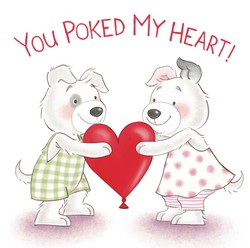You Poked My Heart!