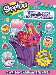 Shopkins Fashion Friends Sticker and Activity