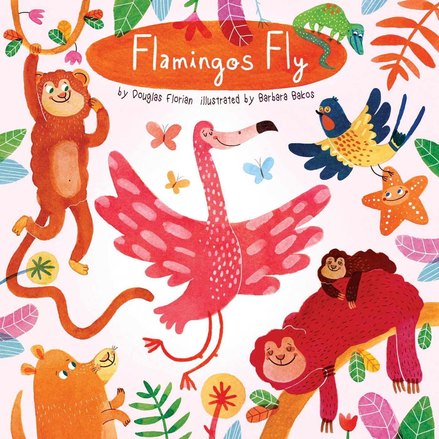 Flamingos fly 9781499803679 hr