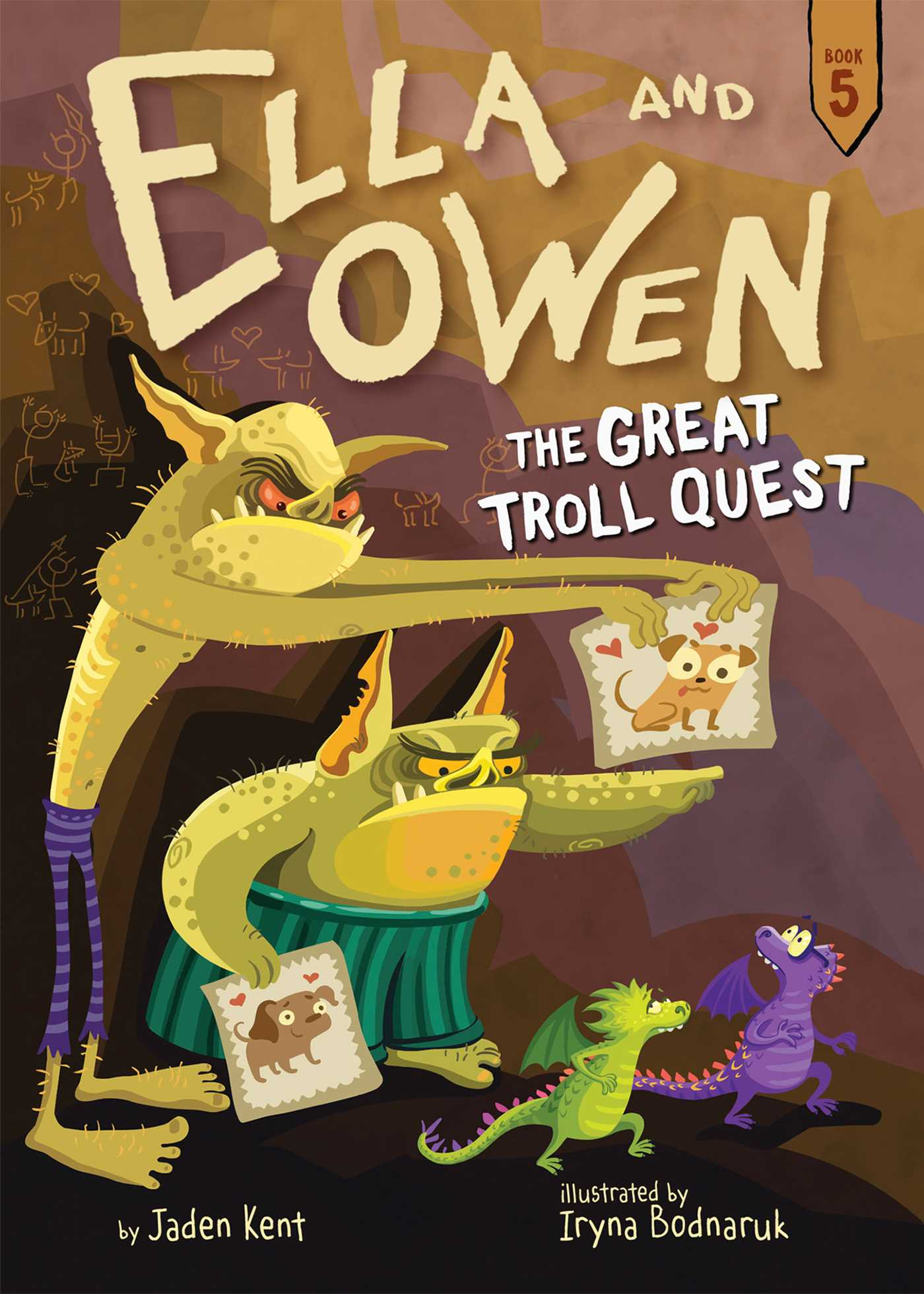 5 the great troll quest 9781499804737 hr