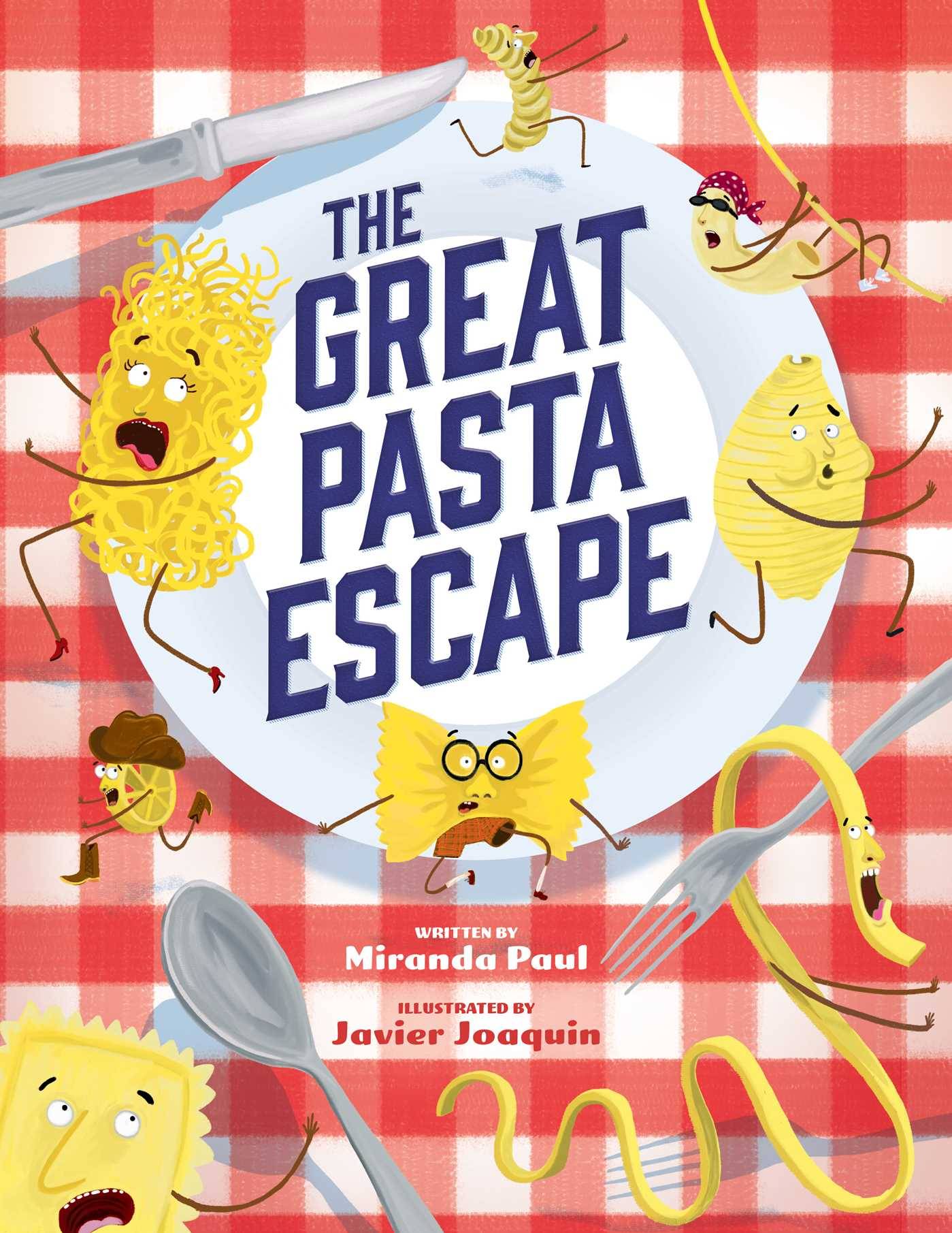 The great pasta escape 9781499804805 hr
