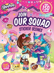 Shoppies Join Our Squad: Sticker Scenes