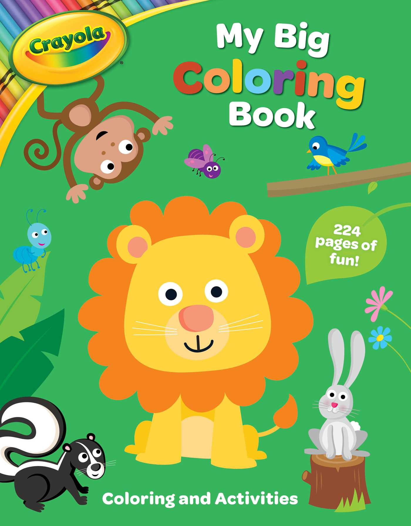 Crayola My Big Coloring Book Book By Buzzpop Official Publisher - Coloring-book-fun